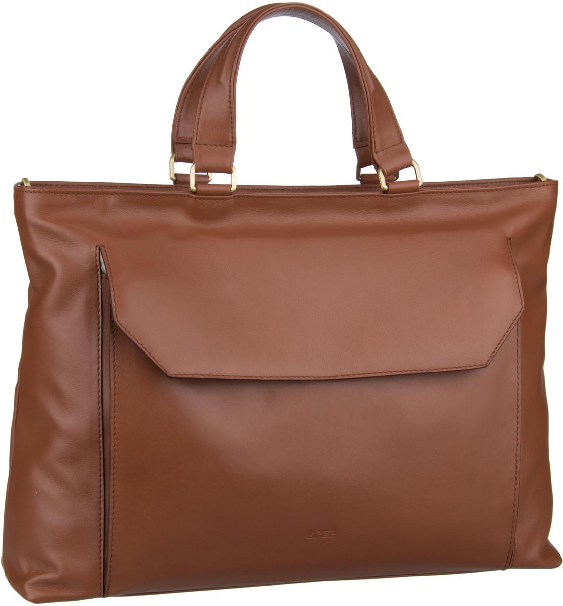 Businesstaschen für Frauen - Bree Aktentasche DIE ZEIT 16 Peanut  - Onlineshop Taschenkaufhaus