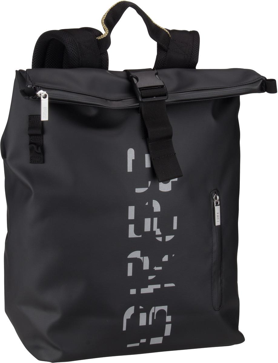 Rucksack / Daypack Punch Print 713 Black/Silver