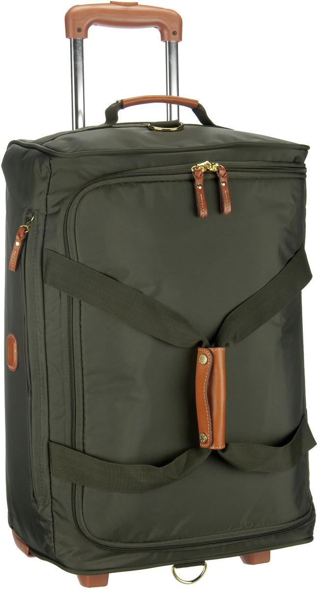 X-Travel Reisetasche mit Rollen Olivegrün (innen: Schwarz)