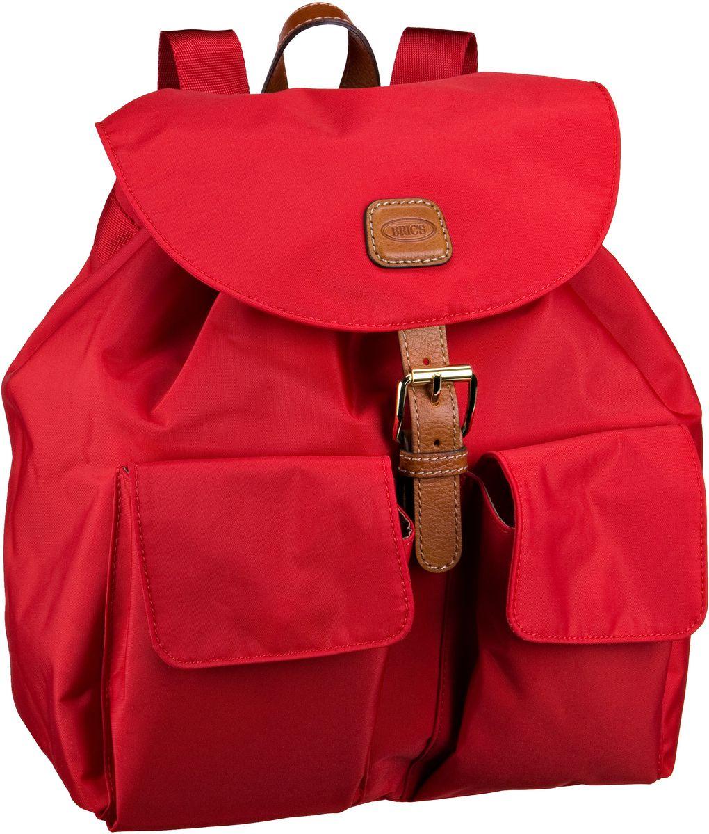 Bric´s X-Travel Rucksack 27 Rot (innen: Beige) - / Daypack Sale Angebote Guhrow