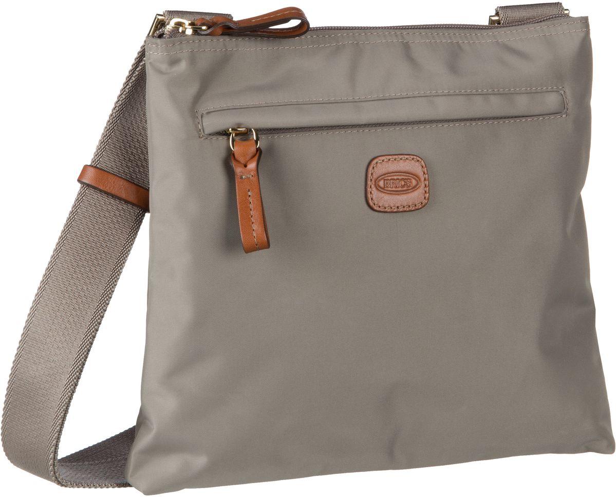 Schultertaschen für Frauen - Bric's Umhängetasche X Bag Damentasche 42733 Tortora  - Onlineshop Taschenkaufhaus