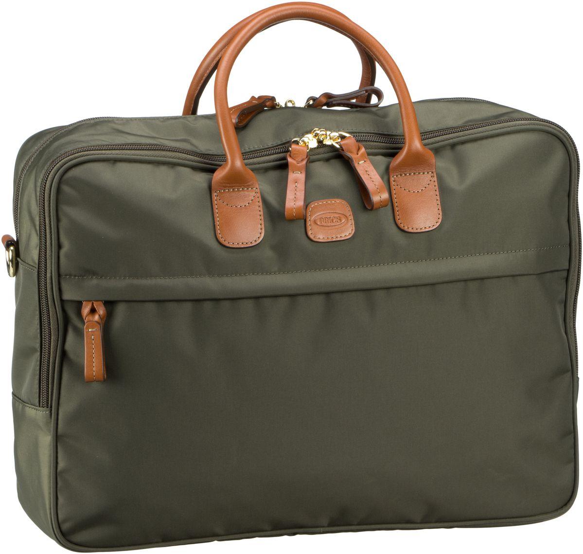 Businesstaschen für Frauen - Bric's Aktentasche X Travel Aktenmappe 45125 Oliva  - Onlineshop Taschenkaufhaus