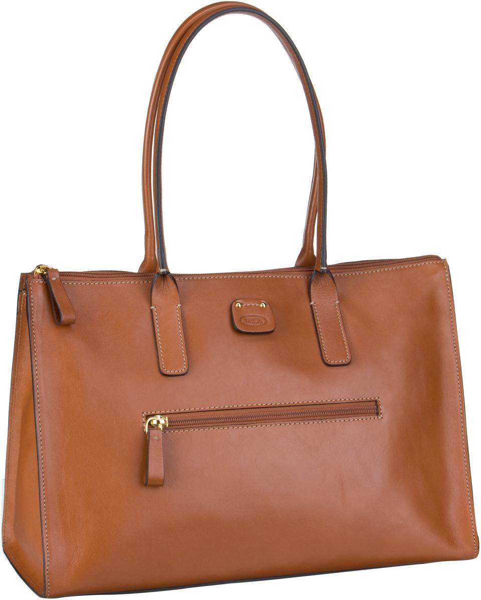 Handtasche Life Pelle Damentasche 55071 Cuoio Bric's ekO0jFu9O