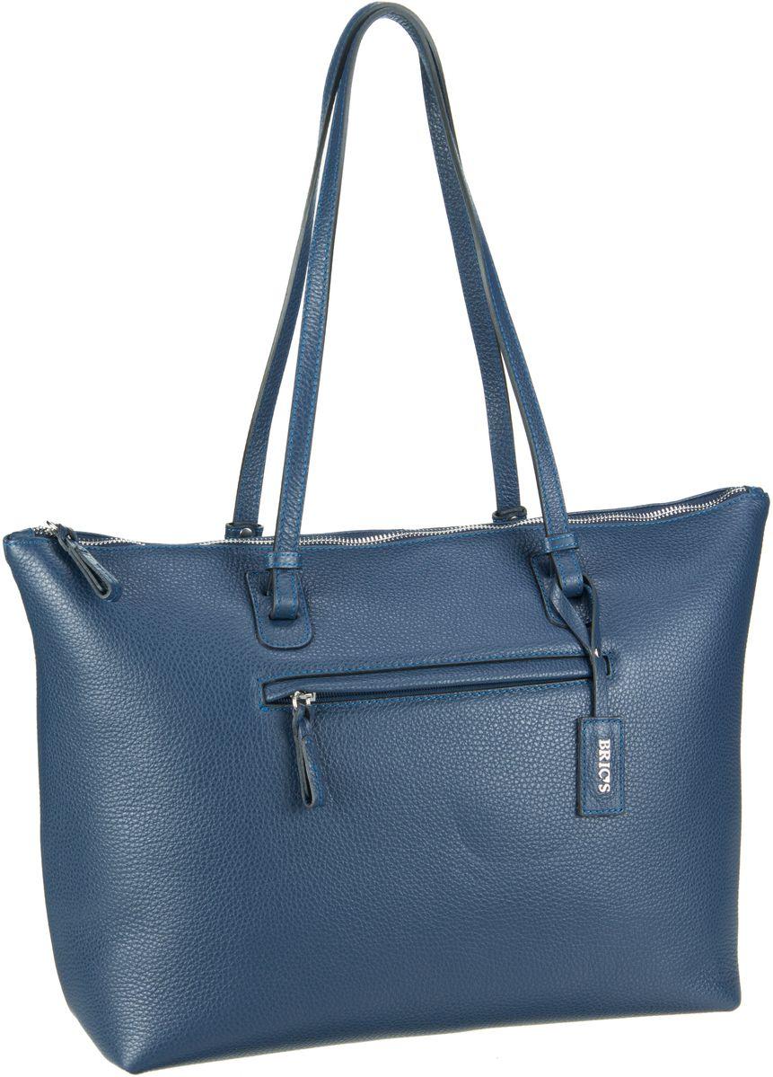 Bric´s Handtasche X-Bag Pelle Shopping 5070 Blu