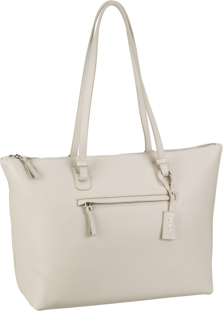 Bric´s Handtasche X-Bag Pelle Shopping 5070 Creme