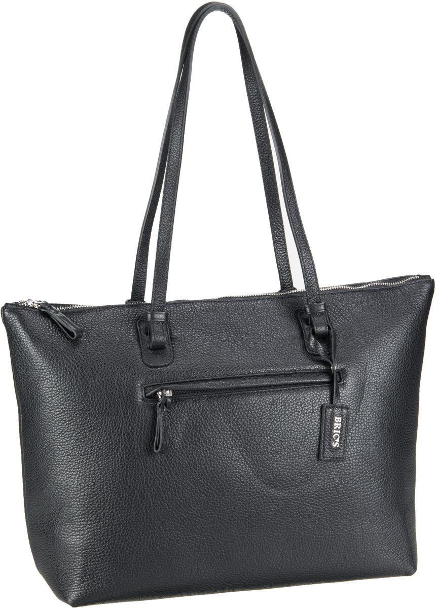 's Handtasche X-Bag Pelle Shopping 5070 Nero