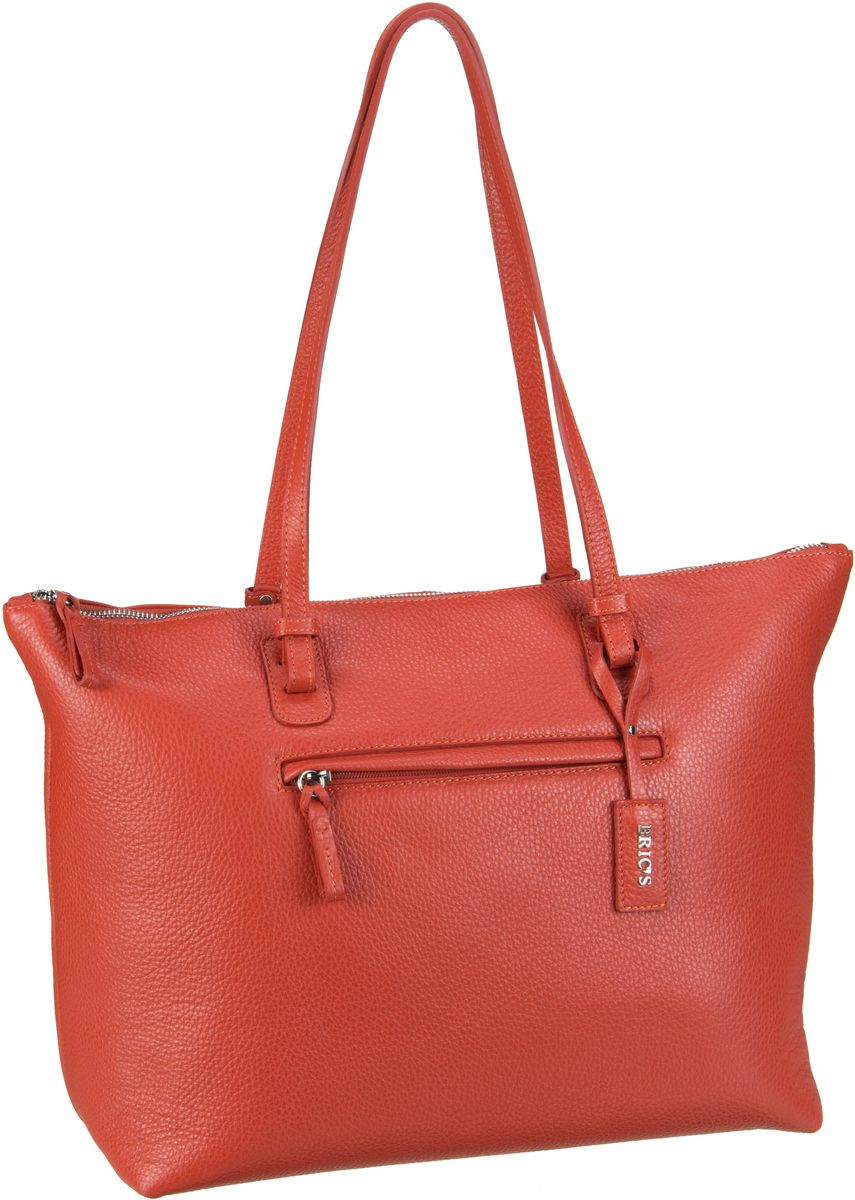 Bric´s Handtasche X-Bag Pelle Shopping 5070 Rosso