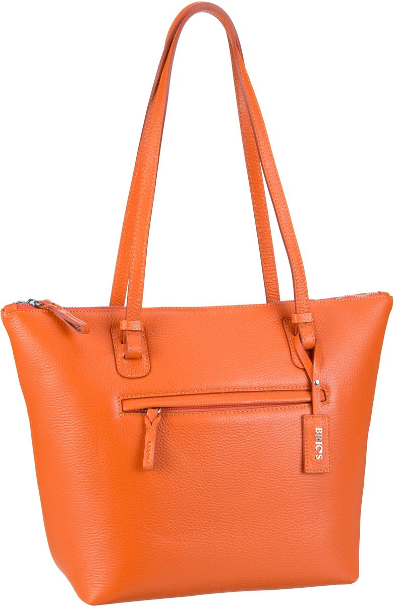 Bric´s X-Bag Pelle Shopping 5071 Arancione - Ha...