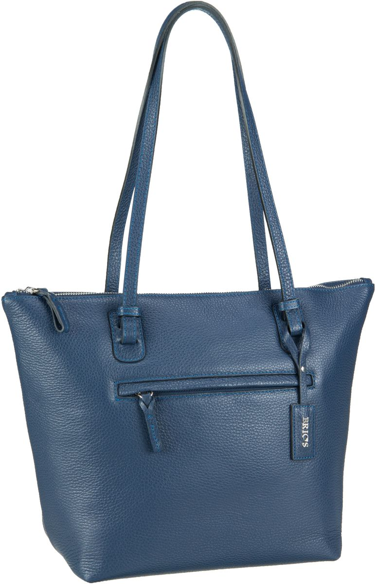 Bric´s X-Bag Pelle Shopping 5071 Blu - Handtasche