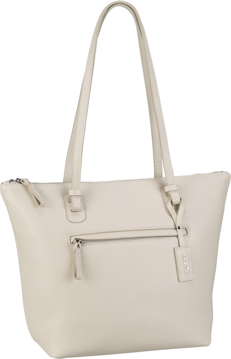 Bric´s X-Bag Pelle Shopping 5071 Creme - Handta...