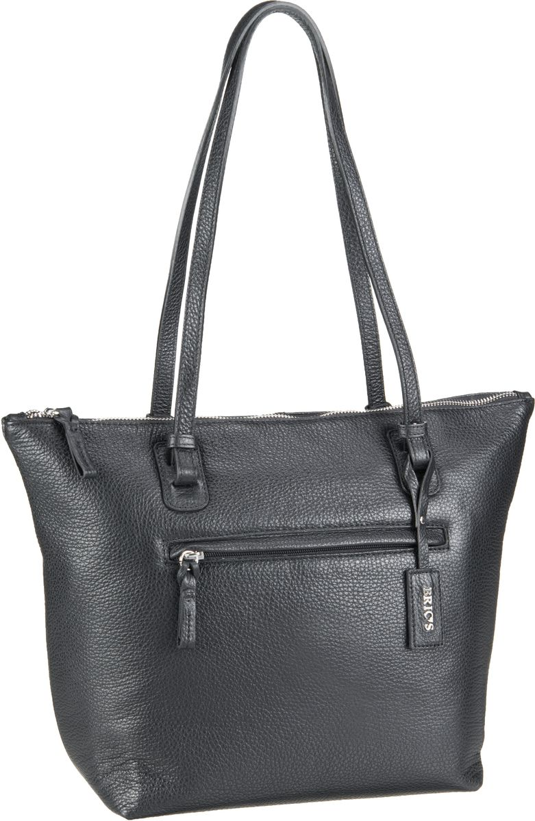 Bric´s Handtasche X-Bag Pelle Shopping 5071 Nero