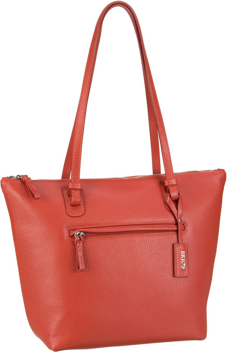Bric´s X-Bag Pelle Shopping 5071 Rosso - Handta...