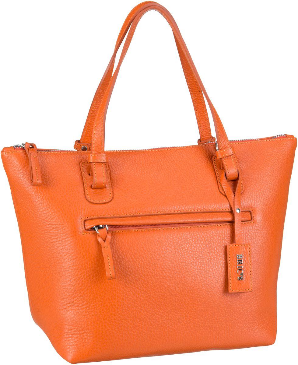 's Handtasche X-Bag Pelle Shopping 5072 Arancione
