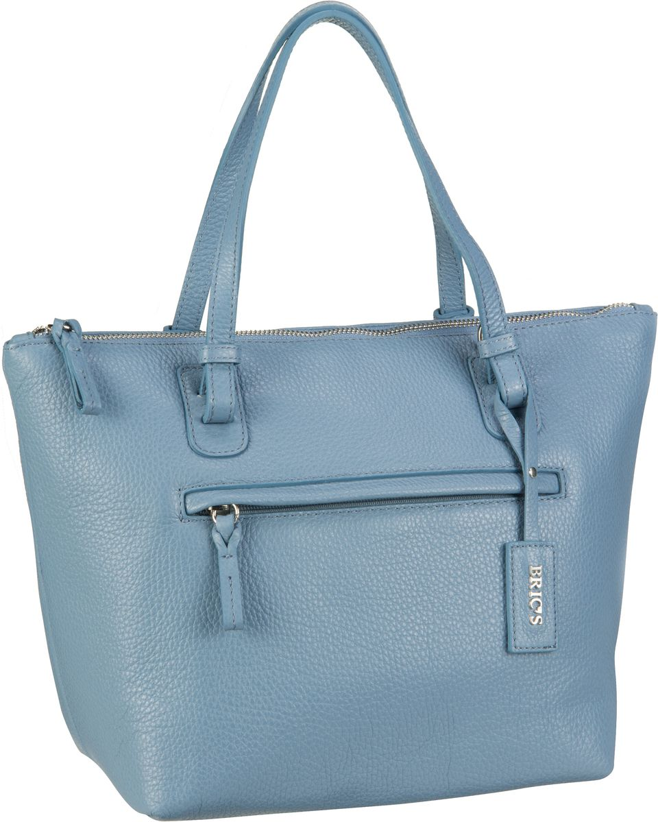 's Handtasche X-Bag Pelle Shopping 5072 Azzurro