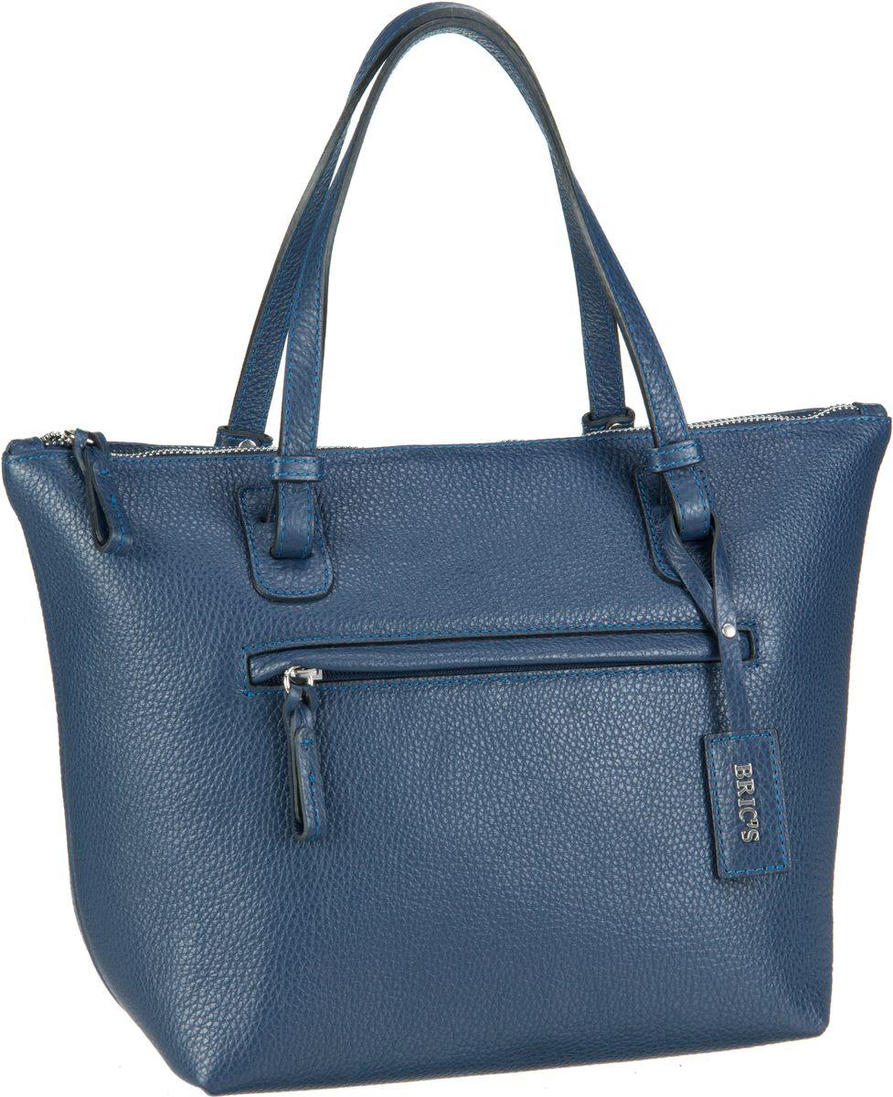 Bric´s Handtasche X-Bag Pelle Shopping 5072 Blu