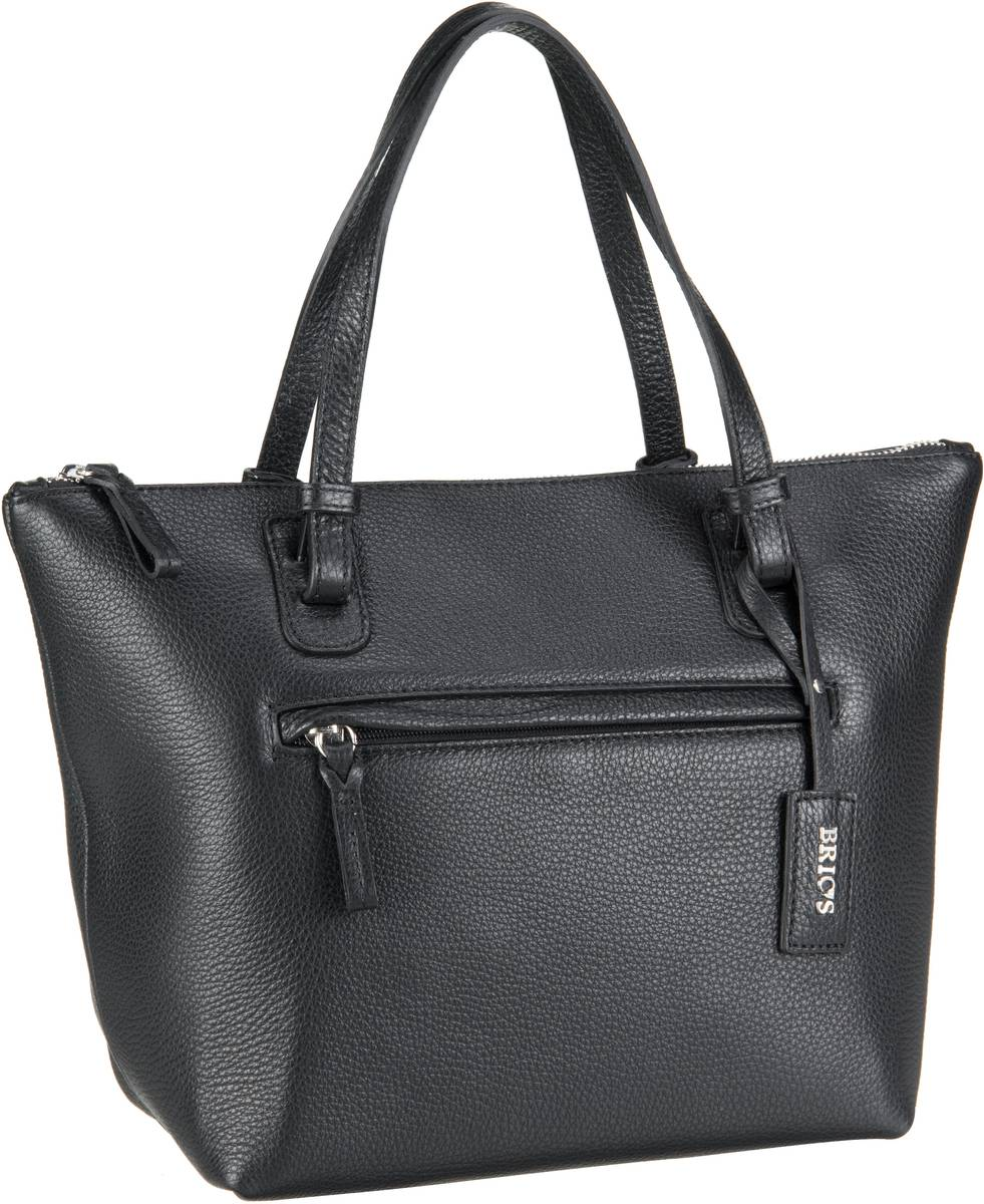 Bric´s Handtasche X-Bag Pelle Shopping 5072 Nero