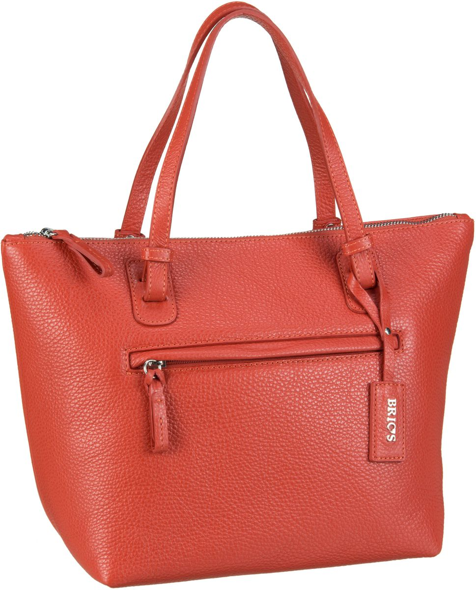 Bric´s Handtasche X-Bag Pelle Shopping 5072 Rosso