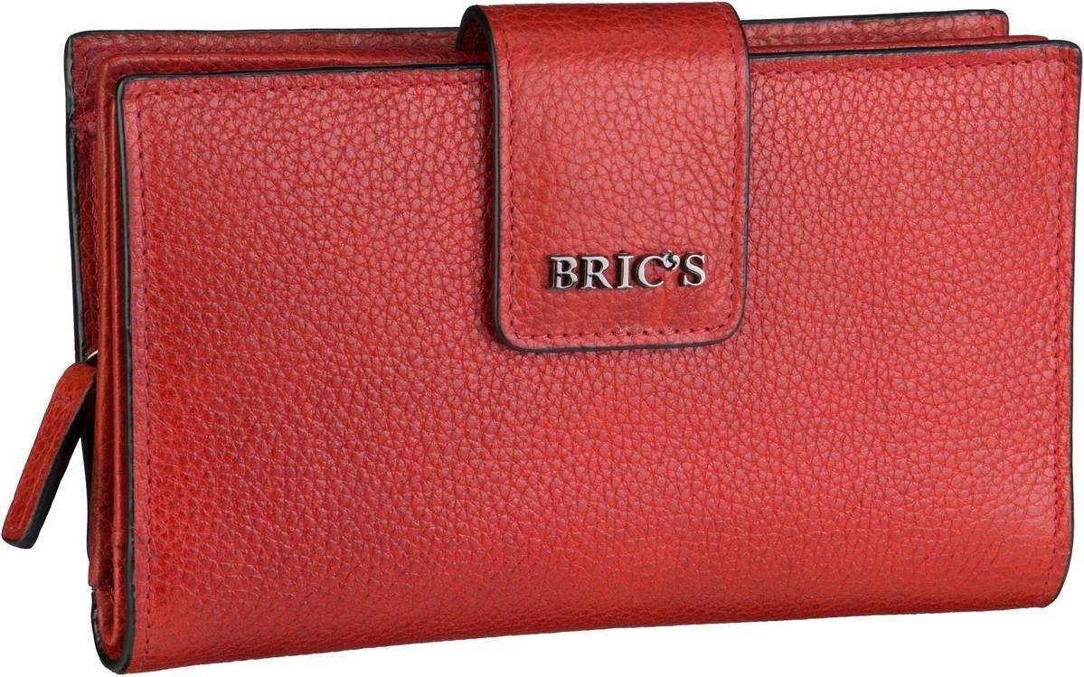 Geldboersen für Frauen - Bric's Geldbörse Mediterraneo Geldbörse 109450 Rosso  - Onlineshop Taschenkaufhaus