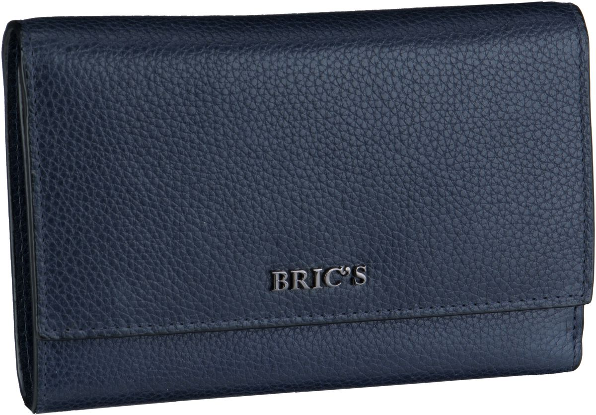 Geldboersen für Frauen - Bric's Geldbörse Mediterraneo Geldbörse 109453 Blu  - Onlineshop Taschenkaufhaus