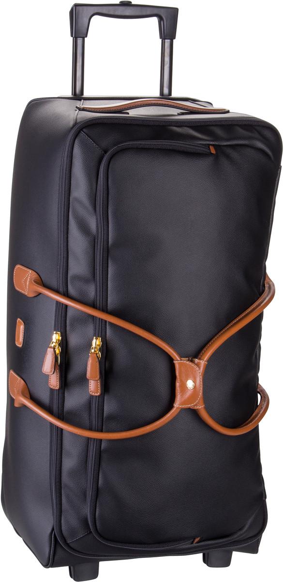 Reisegepaeck für Frauen - Bric's Rollenreisetasche Firenze Rollenreisetasche 72 Nero  - Onlineshop Taschenkaufhaus