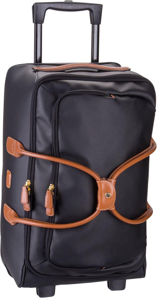 Reisegepaeck für Frauen - Bric's Rollenreisetasche Firenze Rollenreisetasche 55 Nero  - Onlineshop Taschenkaufhaus