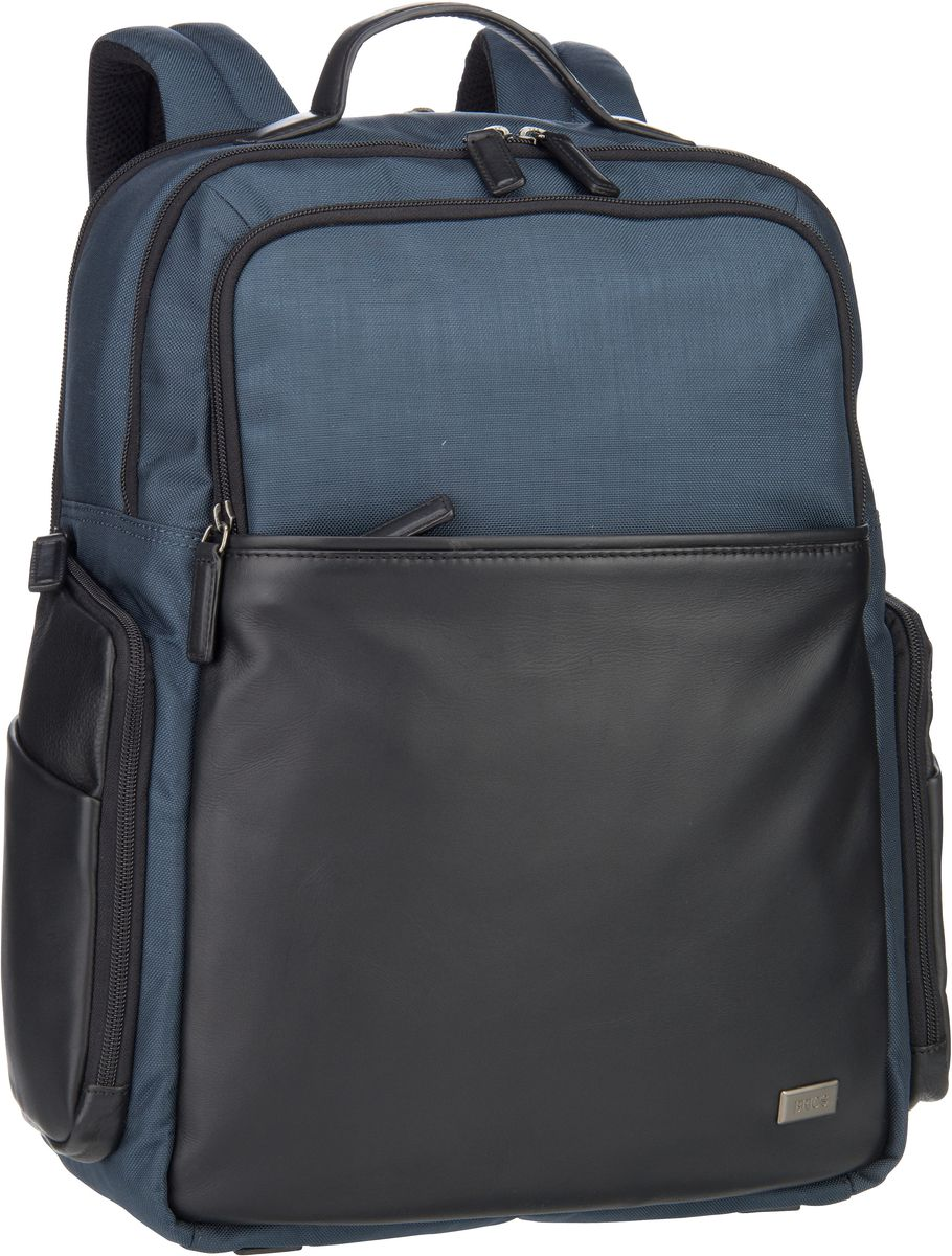 's Laptoprucksack Monza Business-Rucksack 7701 Blu/Nero