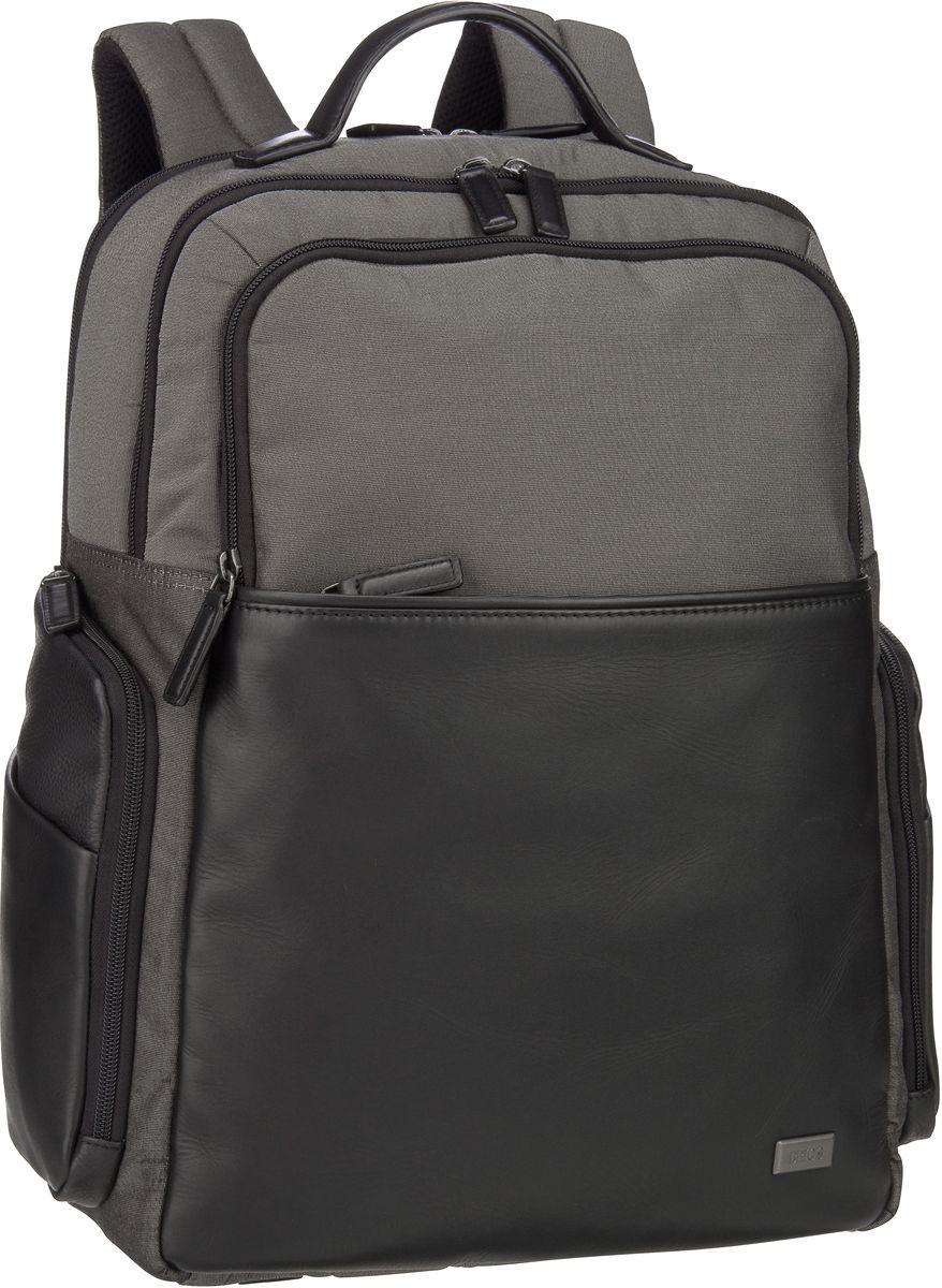 's Laptoprucksack Monza Business-Rucksack 7701 Grigio/Nero