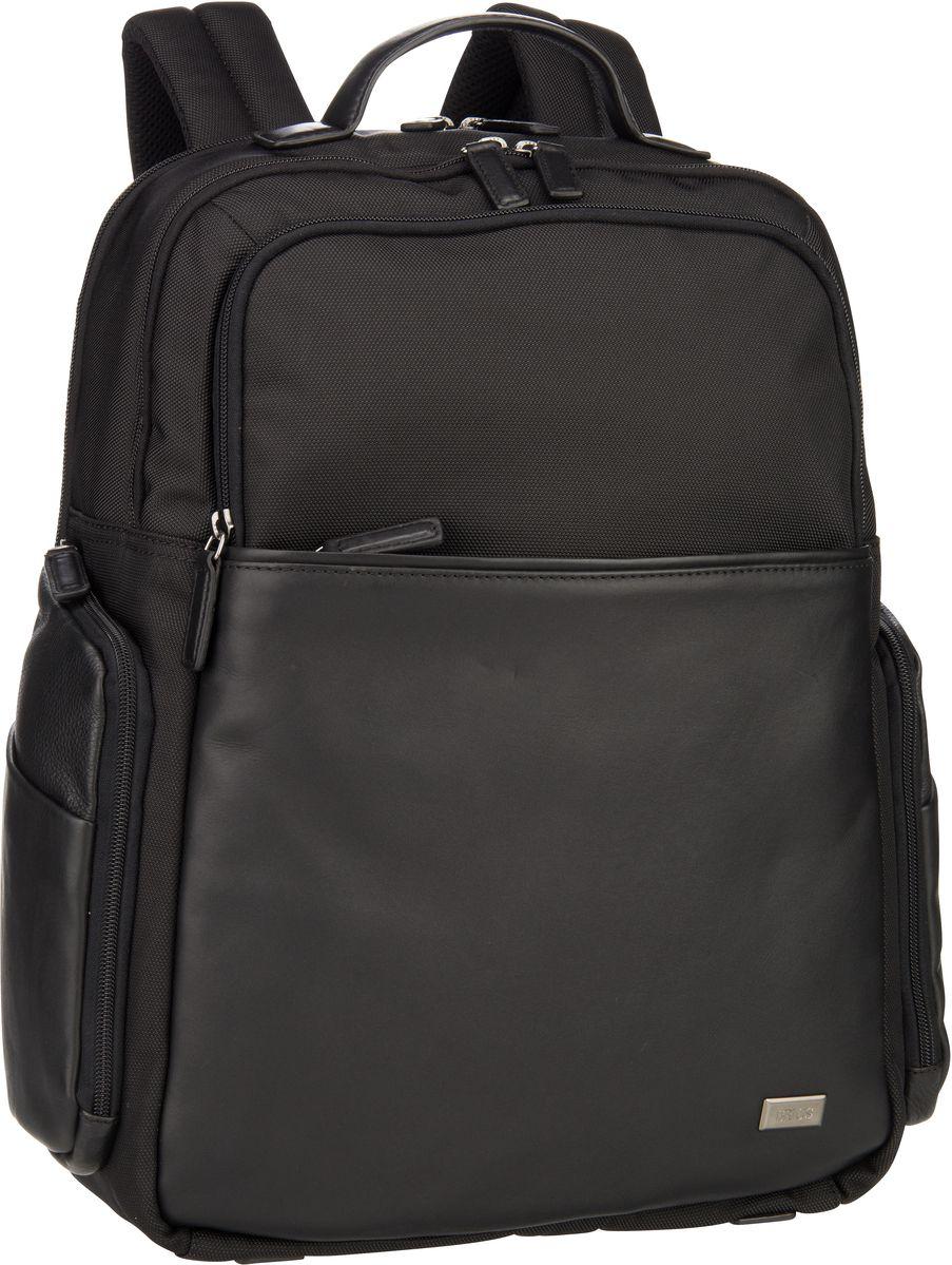 's Laptoprucksack Monza Business-Rucksack 7701 Nero/Nero