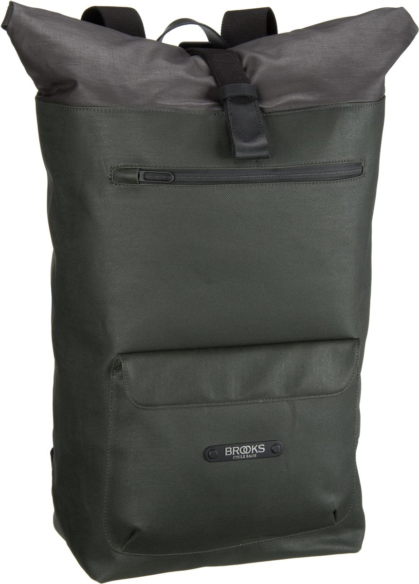Brooks England Rivington Backpack Musk Green - Laptoprucksack