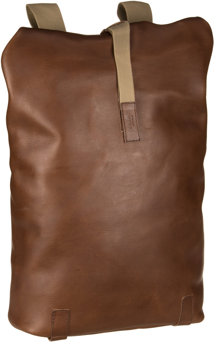 Laptoprucksack Pickwick Cult Leather Dark Tan (26 Liter)