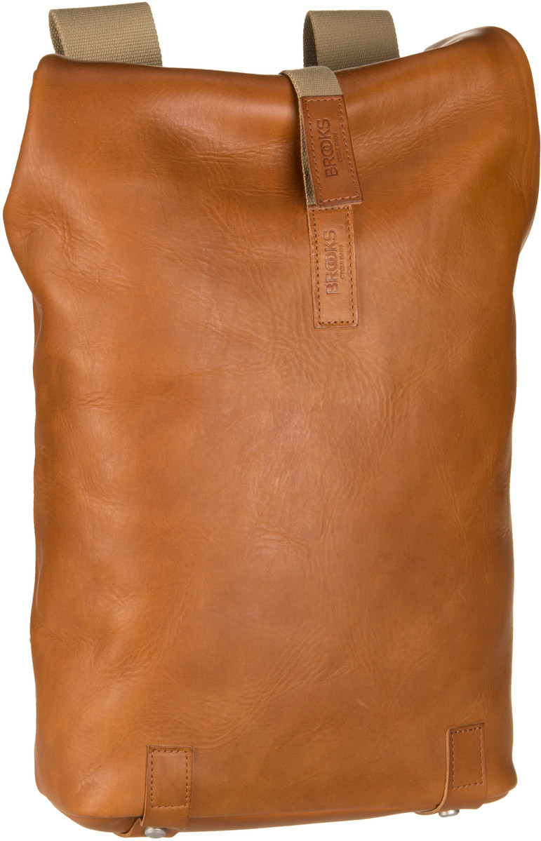 Laptoprucksack Pickwick Cult Leather Small Cognac (12 Liter)