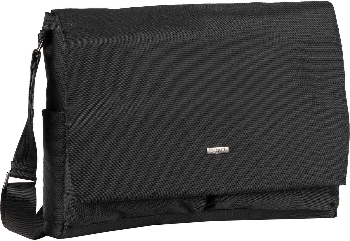 bugatti -  Laptoptasche Contratempo Messenger Bag Schwarz