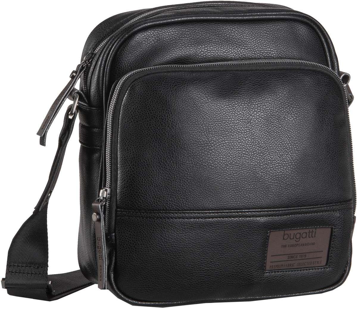 Umhängetasche Moto D Shoulder Bag Upright Schwarz