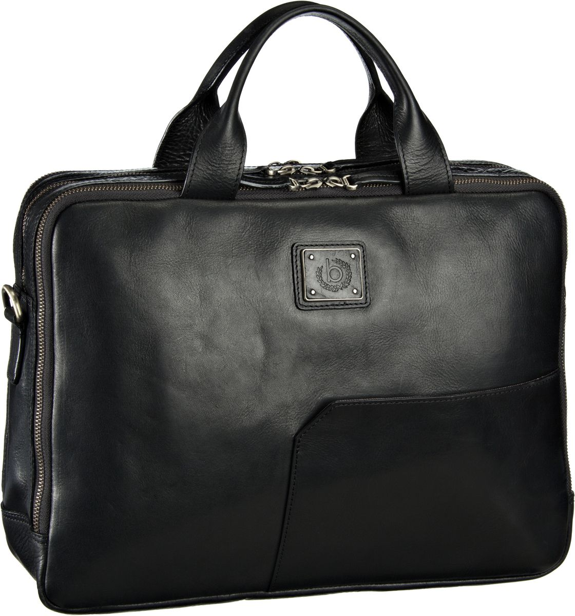Bugatti Tocco Brief Bag Schwarz - Aktentasche