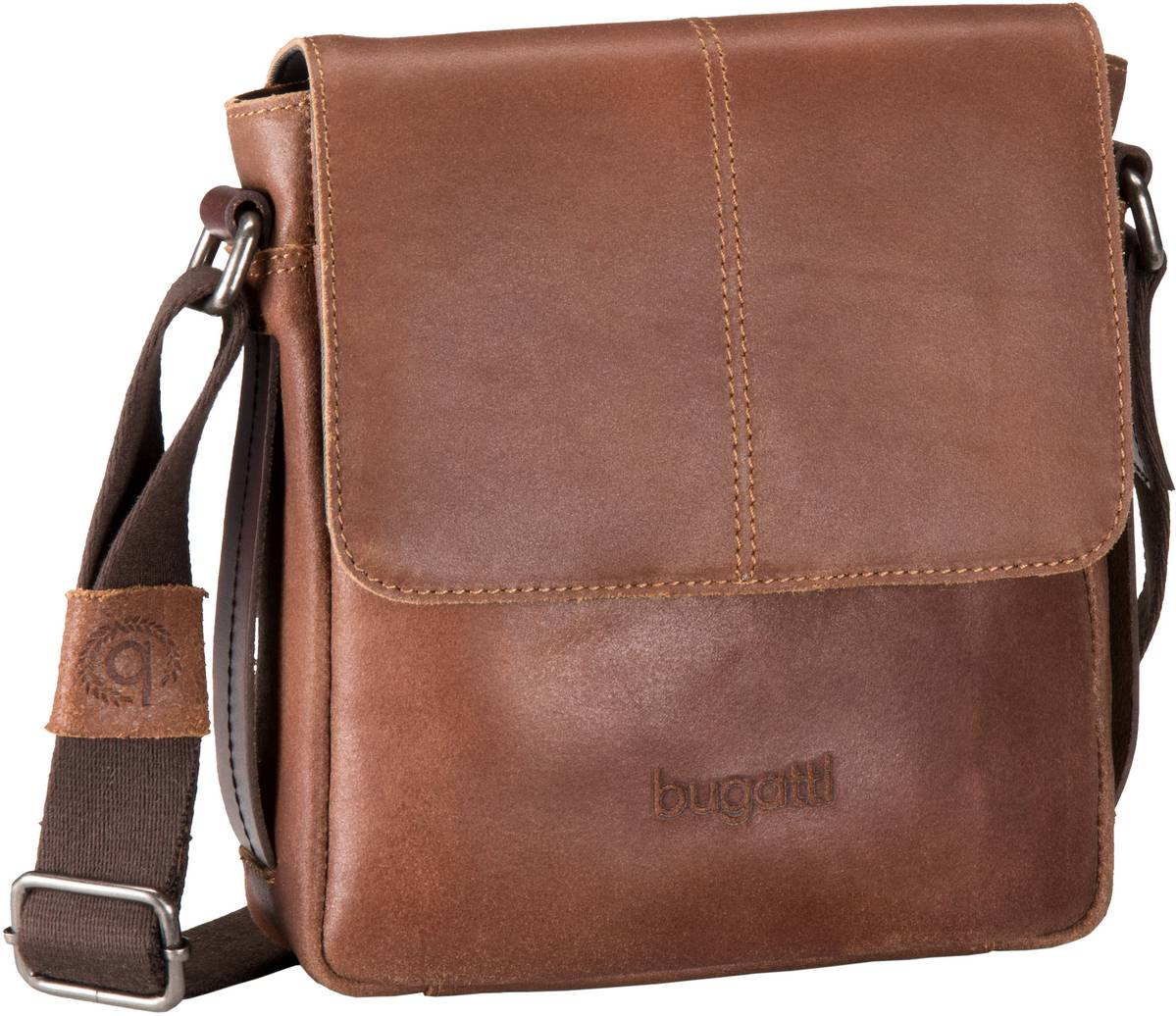 Grinta Messenger Bag Small Cognac