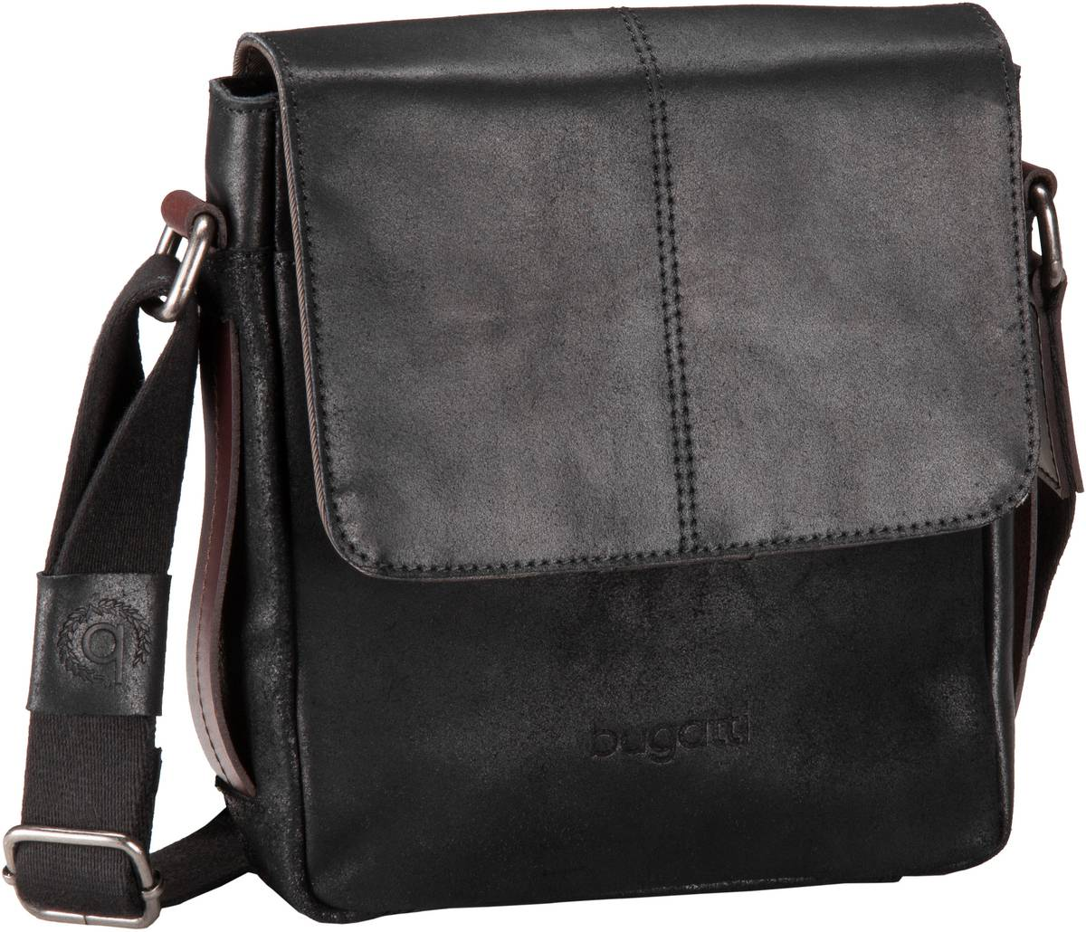 Grinta Messenger Bag Small Schwarz