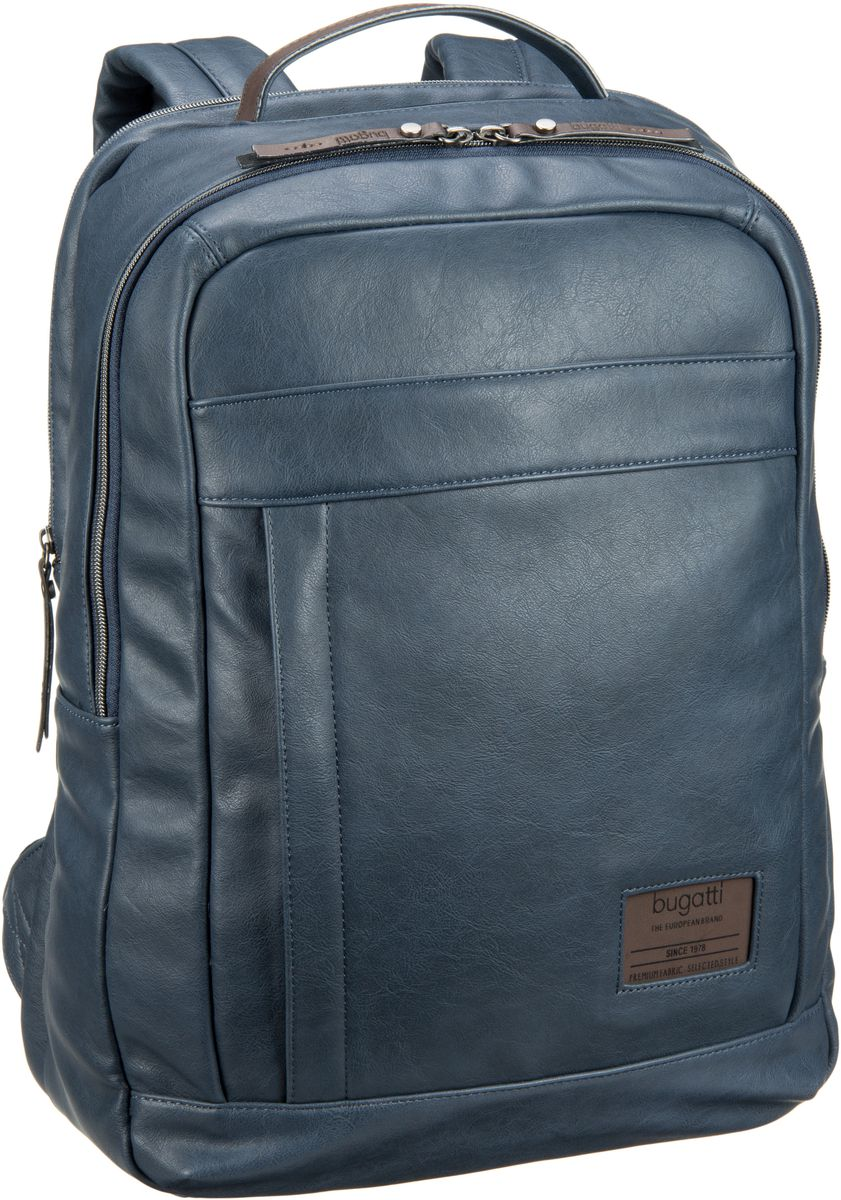 Bugatti Moto D Backpack Blau - Laptoprucksack