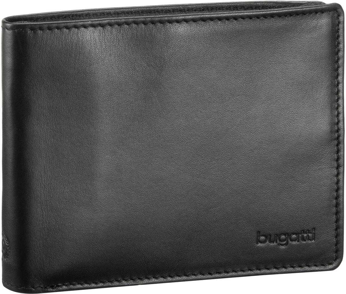 Primo Coin Wallet 10 Kartenfächer Schwarz