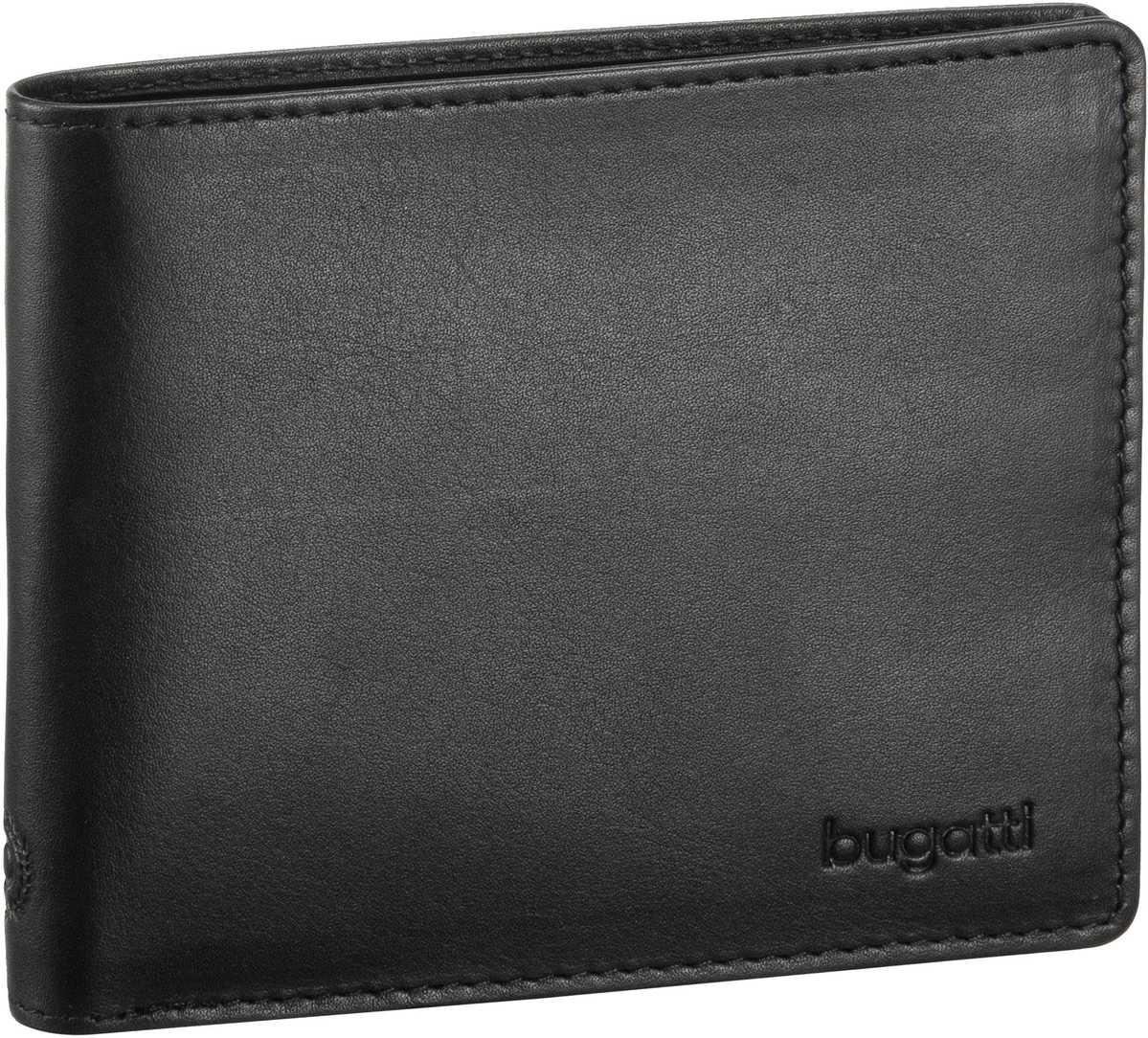 Primo Coin Wallet 4 Kartenfächer Schwarz