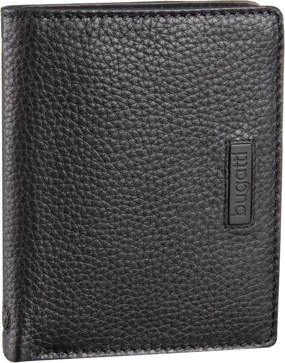 Pregio Coin Wallet Combi Style 12 Kartenfächer Schwarz