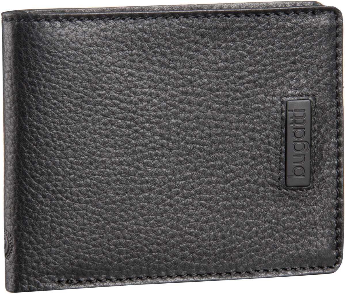 Pregio Wallet 9 Kartenfächer Schwarz