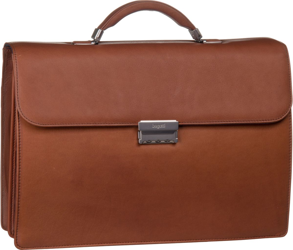 Sartoria Briefcase Medium Cognac