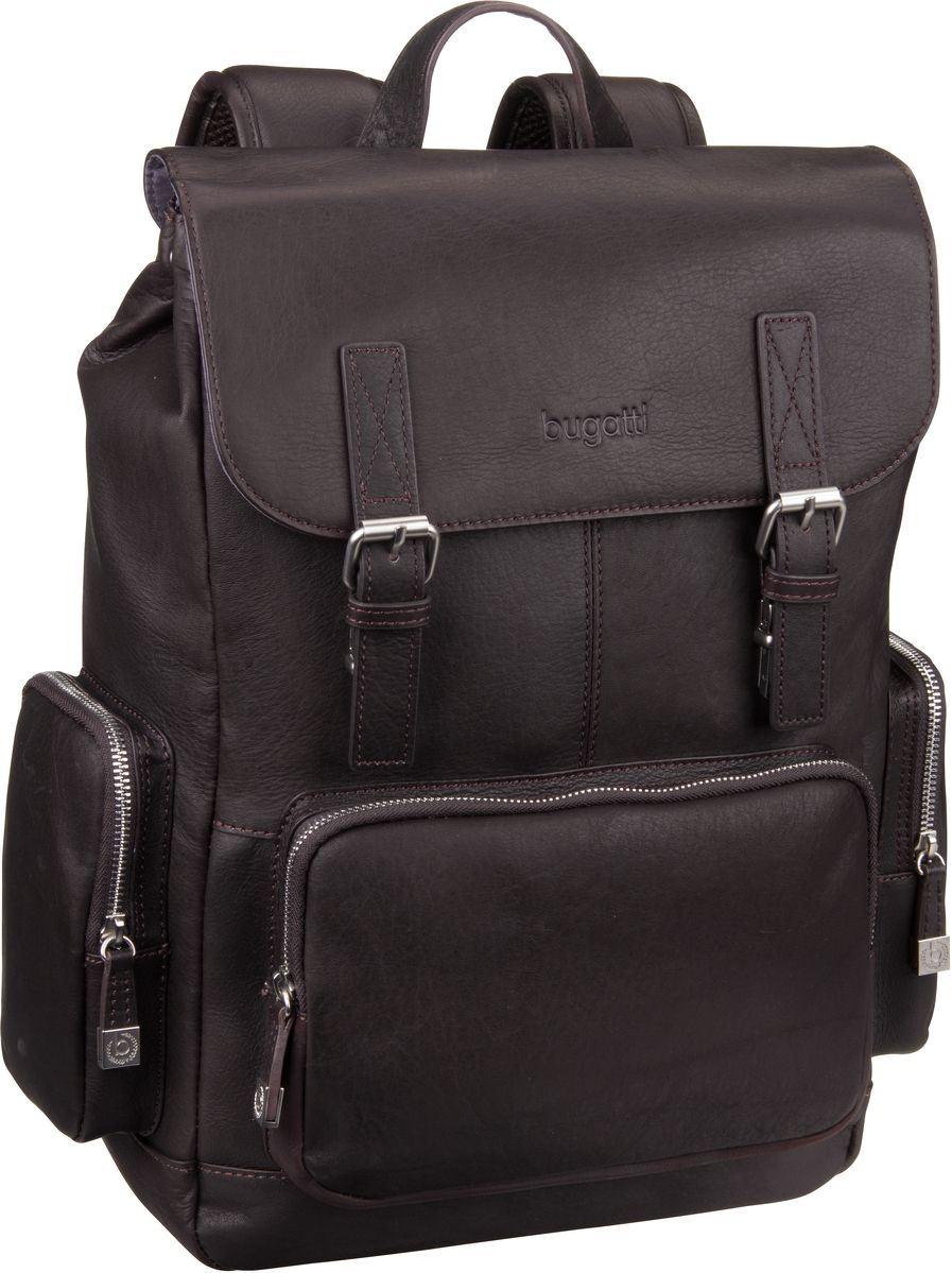 Bugatti Sartoria Backpack Braun - Laptoprucksack