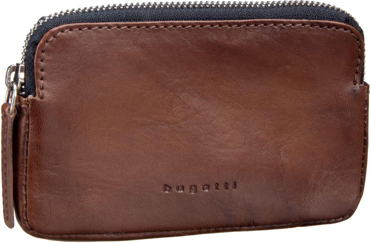 Bugatti Domus RFID 3221 Cognac - Schlüsseletui