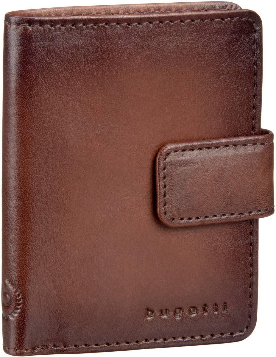 Bugatti Domus RFID 3222 Cognac - Brieftasche