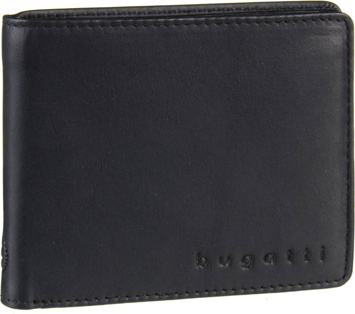 Bugatti Primo RFID 3265 Schwarz - Geldbörse