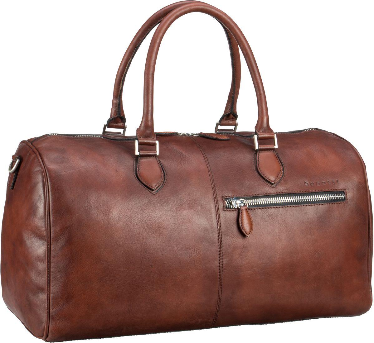 bugatti -  Reisetasche Domus Travel Bag Cognac