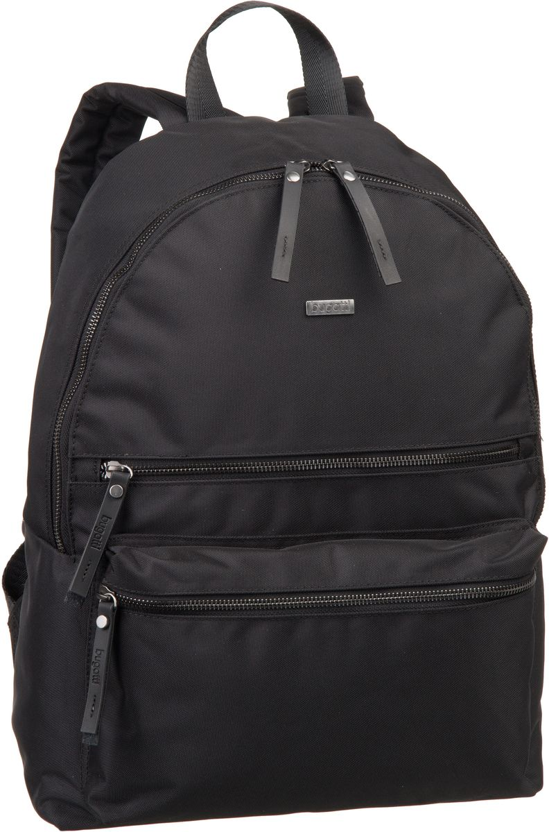 bugatti -  Laptoprucksack Contratempo Backpack Medium Schwarz