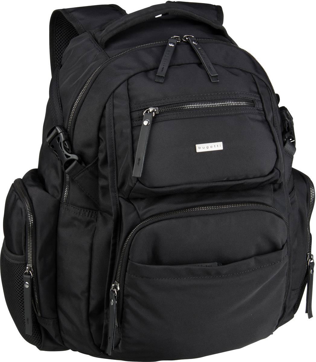 Laptoprucksack Contratempo Backpack Big Schwarz