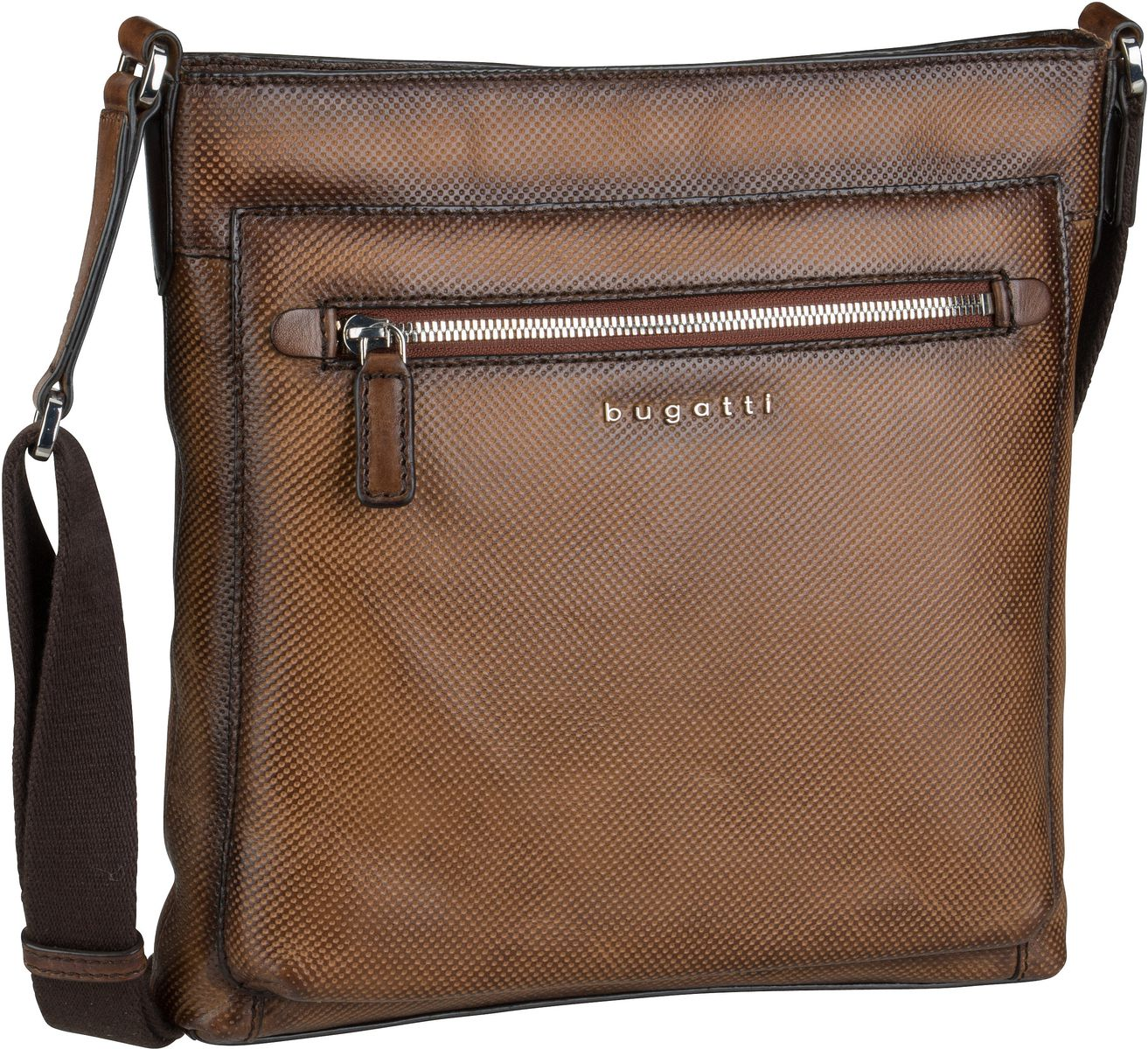 Umhängetasche Perfo Crossbody Bag Medium Braun